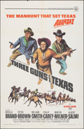 """Movie Posters:Western, Three Guns for Texas & Other Lot (Universal, 1968). Folded, Overall: Very Fine-. One Sheets (2) (27"""" X 41"""") & Lobby Card Set... (Total: 18 Items)"""