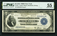 Fr. 751 $2 1918 Federal Reserve Bank Note PMG About Uncirculated 55
