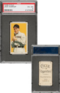 Baseball Cards:Singles (Pre-1930), 1909-11 T206 Cycle 350 Jack Warhop PSA VG-EX 4 - Pop One, Two Higher For Brand. ...