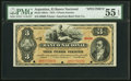 World Currency, Argentina Banco Nacional 3 Pesos Fuertes 1.8.1873 Pick S651s Specimen PMG About Uncirculated 55 EPQ.. ...
