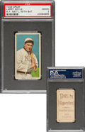 Baseball Cards:Singles (Pre-1930), 1909-11 T206 Drum Larry Doyle (With Bat) PSA Good 2 - The Only Confirmed Drum Back!...