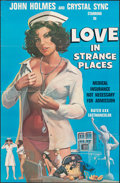 """Movie Posters:Adult, Love, in Strange Places & Other Lot (Pendulous Productions, 1976). Folded, Fine/Very Fine. One Sheets (2) (24"""" X 37"""" & 27.5""""... (Total: 2 Items)"""
