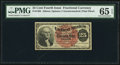 Fractional Currency:Fourth Issue, Fr. 1302 25¢ Fourth Issue PMG Gem Uncirculated 65 EPQ.. ...