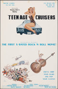 """Movie Posters:Adult, Young, Hot 'n Nasty Teenage Cruisers & Other Lot (VCX, 1977). Folded, Fine/Very Fine. One Sheets (2) (23"""" X 35"""" & 20"""" X 28"""")... (Total: 2 Items)"""