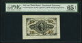 Fractional Currency:Third Issue, Fr. 1251SP 10¢ Third Issue Wide Margin Face PMG Gem Uncirculated 65 EPQ.. ...