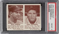 Baseball Cards:Singles (1940-1949), 1941 Double Play Newsom/Greenberg #51/52 PSA NM-MT 8 - Only One Higher. ...