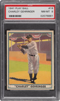 Baseball Cards:Singles (1940-1949), 1941 Play Ball Charley Gehringer #19 PSA NM-MT 8. ...