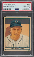 Baseball Cards:Singles (1940-1949), 1941 Play Ball Pee Wee Reese #54 PSA NM-MT 8. ...