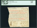 Colonial Notes:Georgia, Georgia 1773 20s PCGS Very Fine 35.. ...