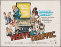 """Movie Posters:Animation, Heavy Traffic & Other Lot (American International, 1973). Folded, Overall: Fine/Very Fine. Half Sheet (22"""" X 28"""") & One Shee... (Total: 2 Items)"""