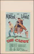 """Movie Posters:Sports, The Caddy (Paramount, 1953). Very Fine+. Window Card (14"""" X 22""""). Sports.. ..."""