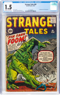 Silver Age (1956-1969):Adventure, Strange Tales #89 (Marvel, 1961) CGC FR/GD 1.5 Off-white t...