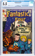 Silver Age (1956-1969):Superhero, Fantastic Four #45 (Marvel, 1965) CGC FN- 5.5 Off-white to white pages....