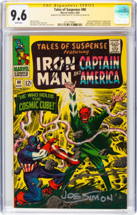 Tales of Suspense #80 Signature Series (Marvel, 1966) CGC NM+ 9.6 White pages