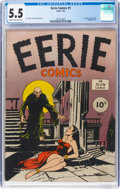 Golden Age (1938-1955):Horror, Eerie #1 (Avon, 1947) CGC FN- 5.5 Cream to off-white pages....