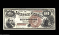 Large Size:Legal Tender Notes, Fr. 100 $10 1880 Legal Tender Superb Gem New. A much ...