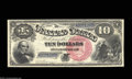 Large Size:Legal Tender Notes, Fr. 104 $10 1880 Legal Tender Gem New. This is only the ...