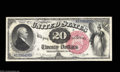 Large Size:Legal Tender Notes, Fr. 135 $20 1880 Legal Tender Choice About New. CAA has ...