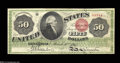 Large Size:Legal Tender Notes, Fr. 150 $50 1863 Legal Tender About New. A spectacular, ...