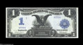 Large Size:Silver Certificates, Fr. 233 $1 1899 Silver Certificate Very Choice New. Part ...