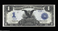Large Size:Silver Certificates, Fr. 233 $1 1899 Silver Certificate Very Choice New. Serial ...