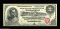 Large Size:Silver Certificates, Fr. 241 $2 1886 Silver Certificate Superb Gem New. This ...