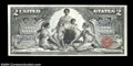 Large Size:Silver Certificates, Fr. 247 $2 1896 Silver Certificate Extremely Fine. This ...