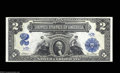 Large Size:Silver Certificates, Fr. 254 $2 1899 Silver Certificate Superb Gem New. A ...