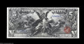 Large Size:Silver Certificates, Fr. 268 $5 1896 Silver Certificate Gem New. An absolutely ...