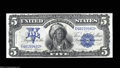Large Size:Silver Certificates, Fr. 275 $5 1899 Silver Certificate Superb Gem New. This ...
