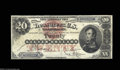 Large Size:Silver Certificates, Fr. 307 $20 1878 Silver Certificate Fine-Very Fine. Only ...