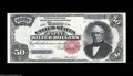 Large Size:Silver Certificates, Fr. 334 $50 1891 Silver Certificate Superb Gem New. A ...