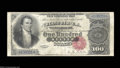 Large Size:Silver Certificates, Fr. 342 $100 1880 Silver Certificate Choice Fine. An ...