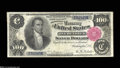 Large Size:Silver Certificates, Fr. 343 $100 1891 Silver Certificate Very Fine-Extremely ...