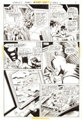 Original Comic Art:Panel Pages, Curt Swan and Murphy Anderson World's Finest #245 Story Page 7 Original Art (DC, 1977)....