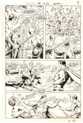 Original Comic Art:Panel Pages, Curt Swan and Murphy Anderson Superman #236 Story Page 8 Original Art (DC, 1971). ...