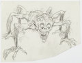 Original Comic Art:Illustrations, Wally Wood - Six-Legged Creature Illustration Original Art (undated)....