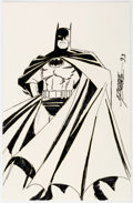 Original Comic Art:Illustrations, George Perez - Batman Illustration Original Art (1993)....