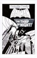 Original Comic Art:Illustrations, Ed Hannigan and Chris Rooks Detective Comics #529 Cover Re-creation Specialty Illustration Original Art (undated)....