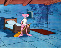 Doctor Pink Pink Panther Production Cel (DePatie-Freleng, 1978)