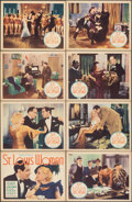 """Movie Posters:Drama, St. Louis Woman (Showmens Pictures, 1934). Very Fine. Lobby Card Set of 8 (11"""" X 14""""). Drama.. ... (Total: 8 Items)"""