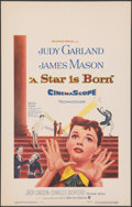 "Movie Posters:Musical, A Star Is Born (Warner Bros., 1954). Very Fine+. Window Card (14"" X 22""). Musical.. ..."