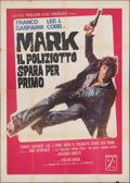 "Movie Posters:Foreign, Mark Shoots First (P.A.C., 1975). Folded, Fine/Very Fine-. Italian 4 - Fogli (55"" X 78""). Foreign.. ..."