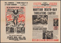 """Movie Posters:Science Fiction, Mars Attacks the World/Planet Outlaws Combo (Magus Film Group, R-1974). Folded, Very Fine. Herald (4 Pages, 11.5"""" X 16""""). Sc..."""
