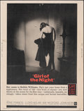 """Movie Posters:Drama, Girl of the Night & Other Lot (Warner Bros., 1960). Rolled, Fine/Very Fine. Posters (2) (30"""" X 40""""). Drama.. ... (Total: 2 Items)"""