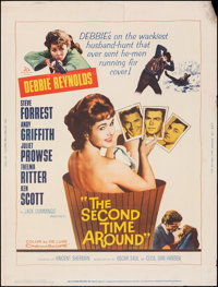 """The Second Time Around & Other Lot (20th Century Fox, 1961). Rolled, Fine+. Posters (4) (30"""" X 40""""). Comed..."""