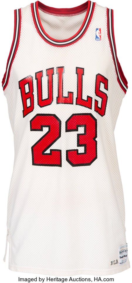 1986-87 Michael Jordan Game Worn Chicago Bulls Uniform--Definitively Photo Matched to Five Games Including 56 Points vs. Phila...