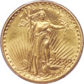 Proof Saint-Gaudens Double Eagles, 1910 $20 Experimental Finish SP66+ PCGS. CAC....