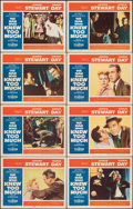 """Movie Posters:Hitchcock, The Man Who Knew Too Much (Paramount, 1956). Fine/Very Fine. Lobby Card Set of 8 (11"""" X 14""""). Hitchcock.. ... (Total: 8 Items)"""