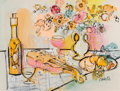 Works on Paper, Charles Cobelle (French, 1902-1998). Still Life with Vase. Mixed media on paper. 21 x 28 inches (53.3 x 71.1 cm). Signed...